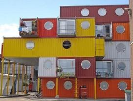 Cidade container em Londres