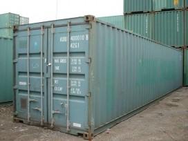 Container de 40 pés