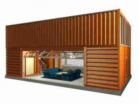 Container moradia